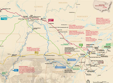 Asww Trail Of Tears Map Sticky
