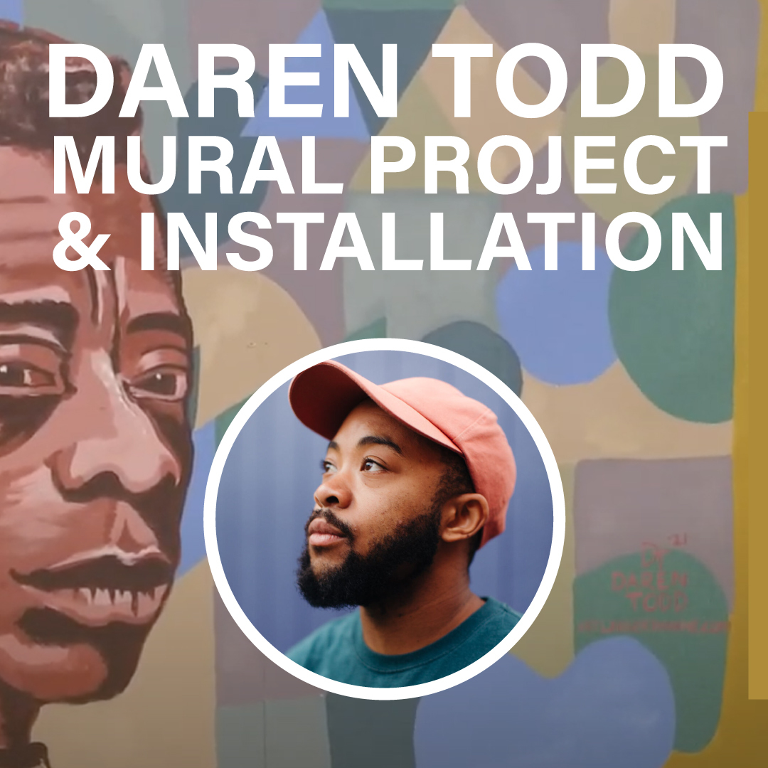 Preview image for Public Art: Daren Todd Mural Project Installation