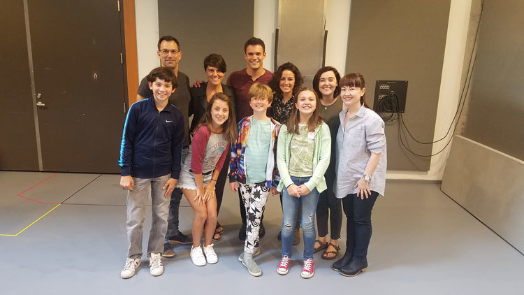 Fun Home Full Cast First Rehearsal 750