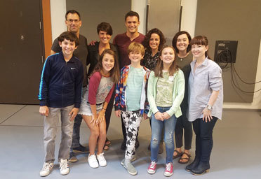 Fun Home Full Cast First Rehearsal Sticky