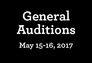 General Auditions17 18 Sticky