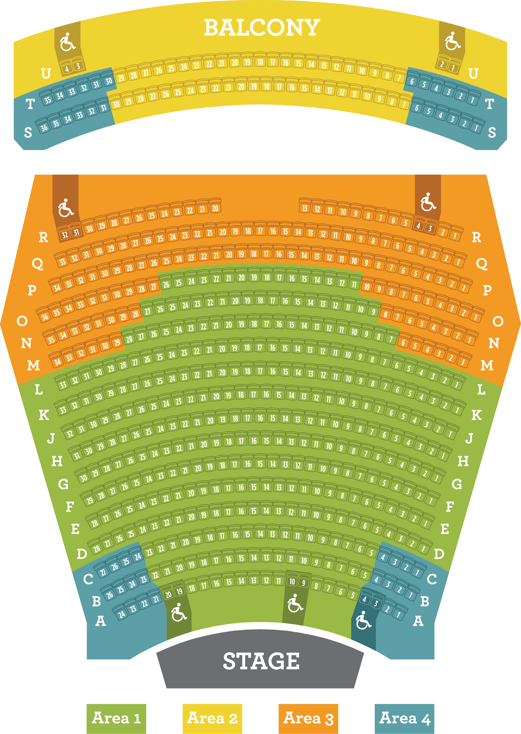 Seat Maps Portland Center Stage At The Armory - Portland on us map
