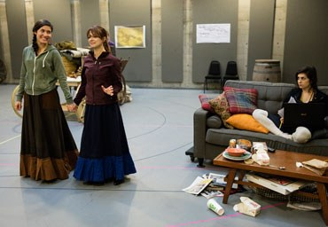 "Preview image for In Photos: ""The Oregon Trail"" in Rehearsal"