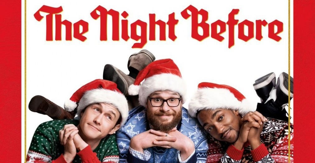The Night Before Poster Christmas Slice