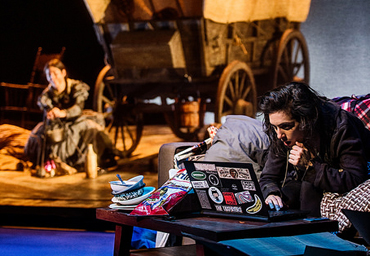 The Oregon Trail The Armory Sarah Baskin Alex Leigh Ramirez Photoby Patrick Weishampel 370X256