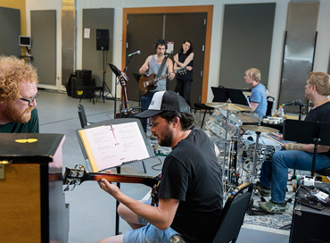 Wild And Reckless Rehearsal Photoby Kate Szrom 370X272