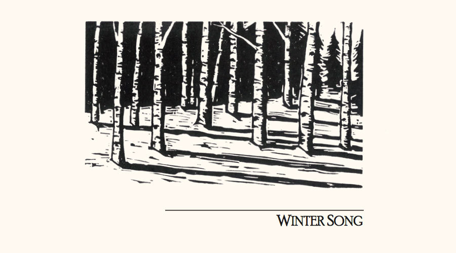 Winter Song Album Cover Art Banner 900X500