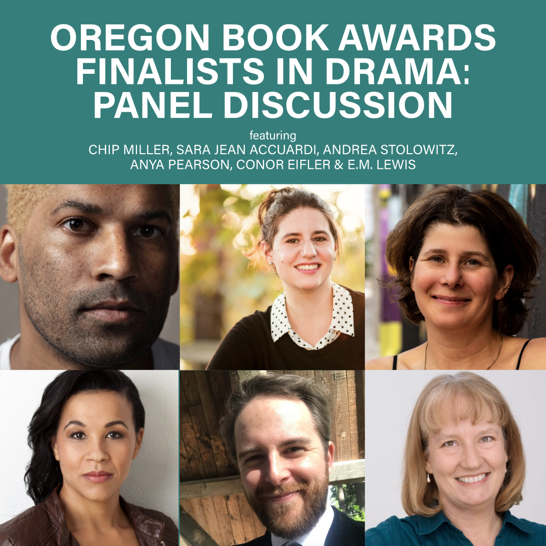 Preview image for Oregon Book Awards Finalists in Drama: Panel Discussion