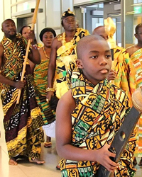 Just Humanitarian Project (JHP) Cultural & Diversity Legacy African dance troupe.