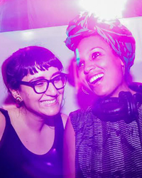 About DJ Mami Miami and DJ Black Daria of Noche Libre