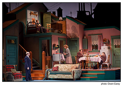 this is what the christmas story set looks like to an audience - What Year Is Christmas Story Set