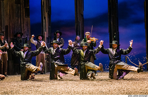 The cast of Fiddler on the Roof.