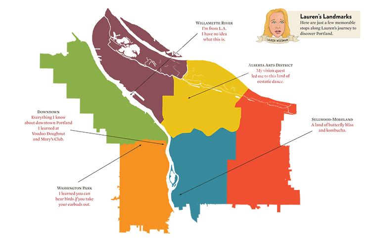 PCS Blog Portland According To Peoples Republic Of Portland - Peoples republic map