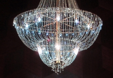 PCS Props Wizardy: A Custom-Built Crystal Chandelier